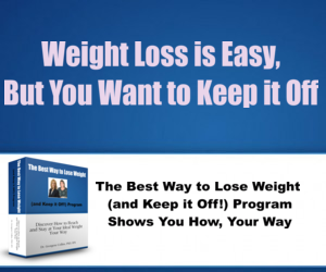 Best Way to Lose Weight 300x250 Banner